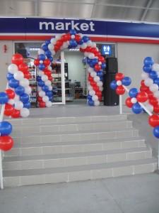Açılış Organizasyonu, Balon Süsleme, Palyaço Kiralama, Şişme Maskot, Tahta Bacak, Ses Sistemi, Uçan Balon Servisi